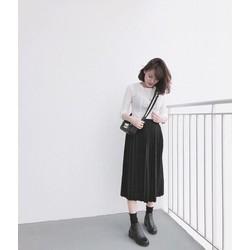 chân váy dài siêu xinh -pll671