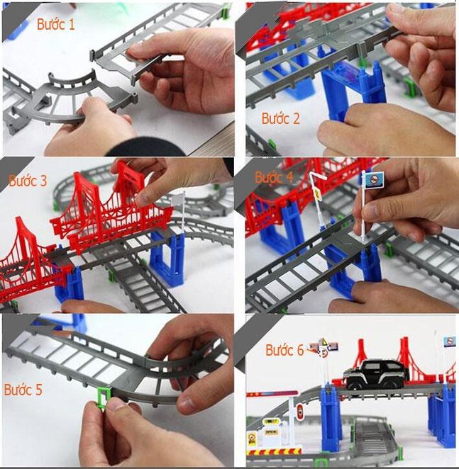 Bộ lắp ráp đường ray ô tô siêu tốc 5