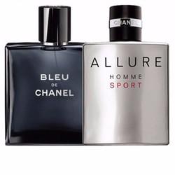 Combo 2 chai nước hoa Blue và Allure-Homme giá siêu khủng
