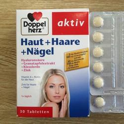 Viên uống đẹp da, tóc, móng Aktiv Haut Haare Nagel