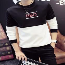 Áo thun nam dài tay loang này HBO