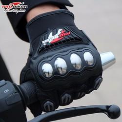 Găng tay Probiker dài ngón gù inox