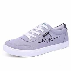 Giày thể thao Sneaker nam sành điệu - Xám