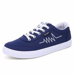 Giày thể thao Sneaker nam sành điệu - Xanh Đen