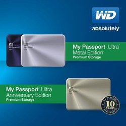 Ổ cứng di động WD Western Digital My Passport Ultra Metal Edition 1TB