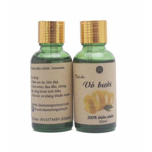 Bộ Tinh dầu vỏ bưởi nguyên chất làm đẹp Ngọc Tuyết 50ml*50ml