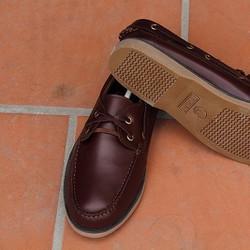 Giày lười Timberland Thailand đỏ đô