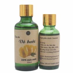 Bộ Tinh dầu vỏ bưởi nguyên chất làm đẹp Ngọc Tuyết 50ml*30ml