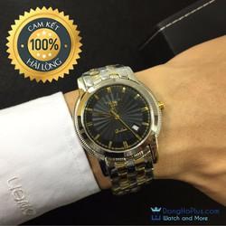 Đồng hồ nam cao cấp nhập khẩu DM đen
