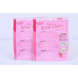 KHUÔN KẺ CHÂN MÀY BROW CLASS