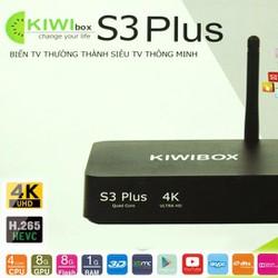 Android tivi box kiwi s3 plus