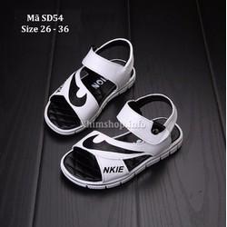 Dép sandal kiểu dáng cho bé trai 3 - 10 tuổi SD54