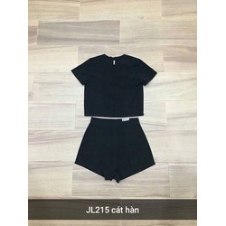 Set bộ áo + quần short