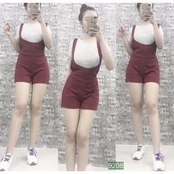 Set áo và quần yếm short