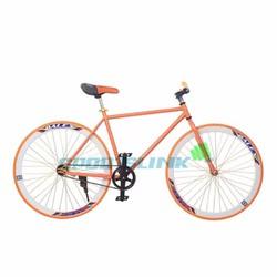 Xe đạp Fixed Gear Single - Cam phối trắng
