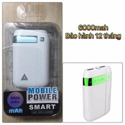 Pin Sạc Dự Phòng Power Bank 6000mha
