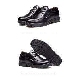 Giày da nam mẫu mới phong cách thời trang 2017 . Mã SNTQ042