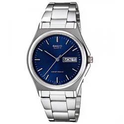 Đồng hồ nam Casio chính hãng mặt xanh, nhỏ