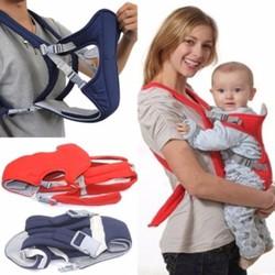 Đai Địu em bé 4 tư thế Baby Carrier CM101 Xanh