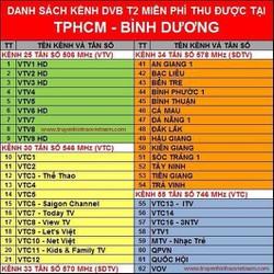 TRON BO ĐẦU THU KTS DVB-T2 GBS  T252 + CAP+ ANTEN  CHIP CHÂU ÂU