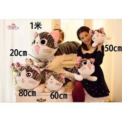 Quà tặng thú bông mèo Chii 80cm