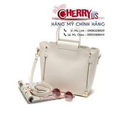 Túi xách F21 - Faux Leather Trapeze Bag