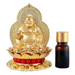 Nước hoa oto cao cấp tạo hình tượng Phật Di Lặc Cười