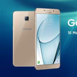Điện thoại Samsung A7 2017 Vàng - Hồng - Đen