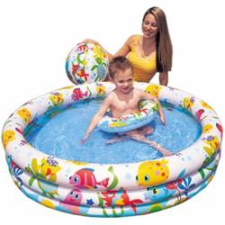 Bể bơi 3 tầng kèm bóng và phao bơi