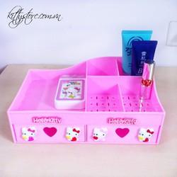 Hộp đựng mỹ phẩm , phụ kiện Hello Kitty  KT314