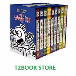 Diary of Wimpy Kid boxed set - Jeff Kinney - Trọn bộ 9 tập