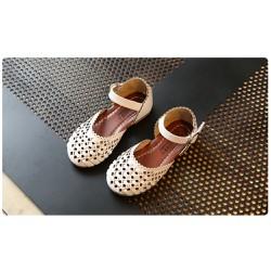 Sandal bé gái đan dây xinh xắn cho mùa hè