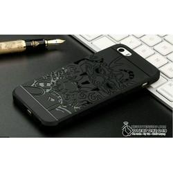 Iphone 5 - 5s - 5se ốp lưng chống sốc hoa văn