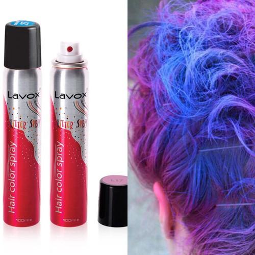 Xịt nhuộm tóc màu tạm thời