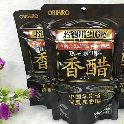 Viên uống giấm đen giảm cân Orihiro Nhật Bản