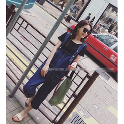 quần jeans yếm 2 túi cá tính Mã: QD1187