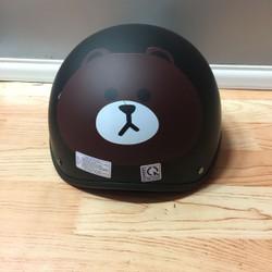 BH41 - Nón mũ bảo hiểm họa hình gấu