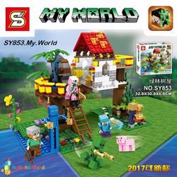 Mô hình lắp ghép My World SY853