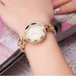 Đồng hồ nữ thời trang Mèo 954 vàng