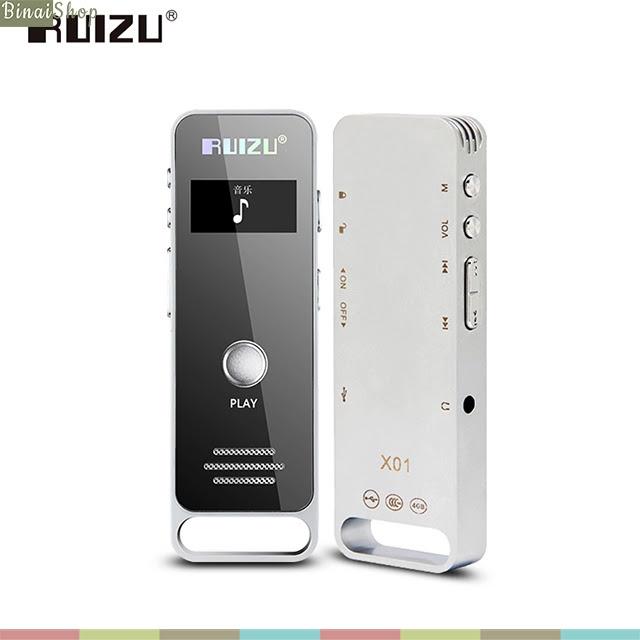 Máy ghi âm HD Recorder Ruizu X01 4