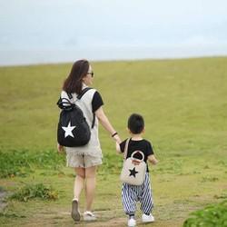 Balo trẻ em star backpack Hàn Quốc