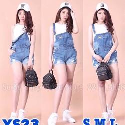 Quần short yếm jeans YS23