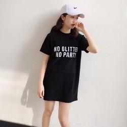 Đầm suông kim sa nhủ Litte girl