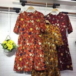 Đầm hoa babydoll