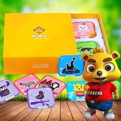 Thẻ học ngoại ngữ 3D - Neobear Zoo