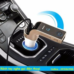 Tẩu nghe nhạc MP3 - Tẩu sạc trên ô tô