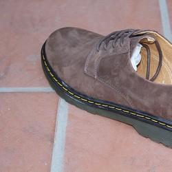 Giày Dr.men - VNXK cổ thấp nâu búc