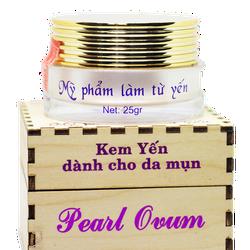 Kem yến dành cho da mụn Pearl Ovum