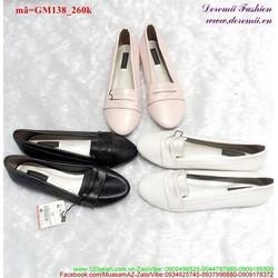 Giày mọi nữ mũi nhọn đáng yêu nữ tính GM138