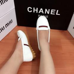 hàng cao cấp loại 1- giày mọi dù chất da sần 2017